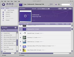 Screenshot of Sony Connect Player v1.0.04.16100.