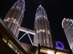 night shot experiment : suria klcc