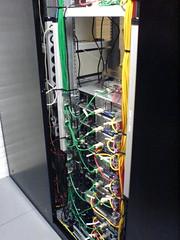 Die Verkabelung der Server