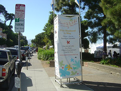 Sausalito spring faire Sign