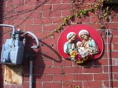 jesus mary & joseph, hard rubbish gold