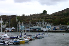 Tarbert Harbour and Castle