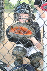 My lil catcher