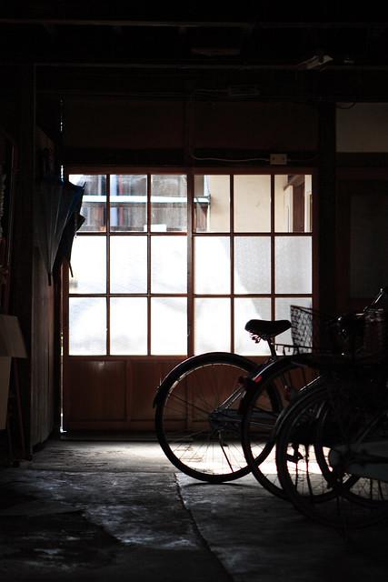 日本家屋の空気