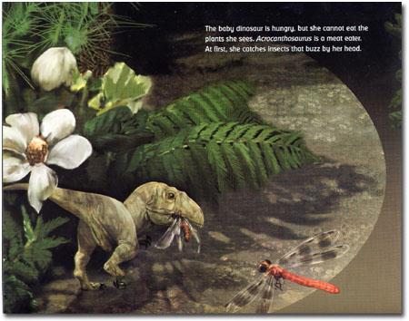baby acrocanthosaurus