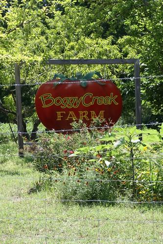 Boggy Creek Sign