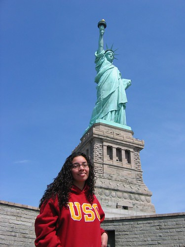 Me with my homegirl Lady Liberty