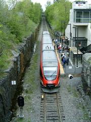O-Train at Carling Station