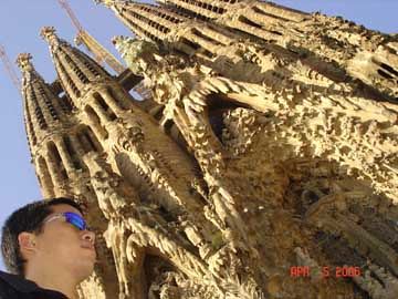 sagrada familia and me