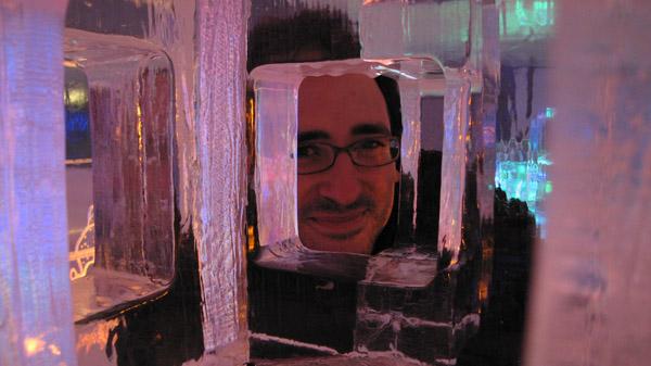 Hielo, frío y cócteles calientes: Icespace