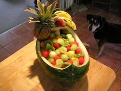 pineapple man fruit bowl homemade pineapple fruit bowl fruits fruit ...