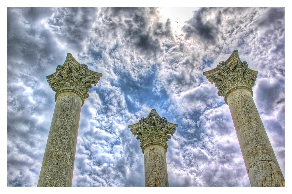 Columns and Clouds
