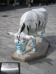 No 9 Cow-ordinate at Edinburgh Cow Parade 2006