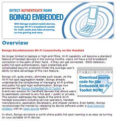 Boingo Embedded Wi-Fi Toolkit