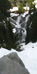Waterfall from upper Hardscrabble