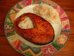 乾煎鮭魚排