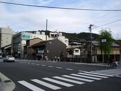 Saliendo del Metro en Higashiyama