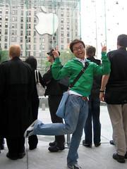 Tourist Pose!