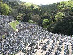 Cementerio en Kyoto