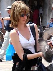 聖馬可廣場餵鴿子_008