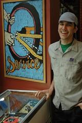 Artist Matt Cardinal