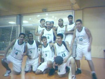 equipe de basquete do CMPA