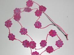 Ref.21 Colar Rosa e rosa