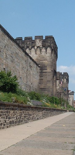 Eastern State Penitentiary, external view, May 2006