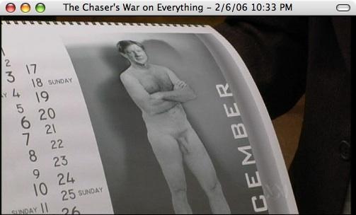 Kerry O'Brien ABC Nude Calendar