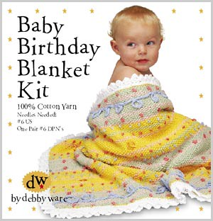 Baby Birthday Blanket Kit