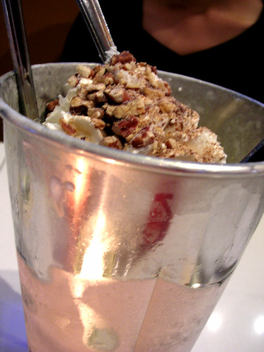 lucky devils toasted pecan frozen custard shake
