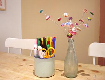 DIY Project: Button Bouquet