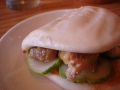 pork bun, Momofuku