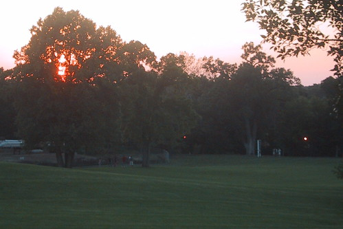 Sunset over Naperville