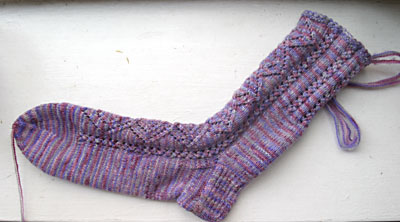 New England Sock #1 - done