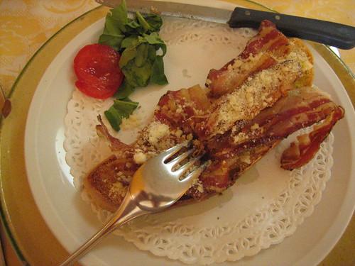 pancetta e pecorino
