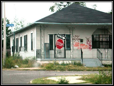 Remains of Katrina Destruction