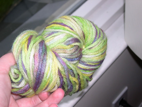 green purple twist