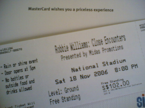 RW tickets!!