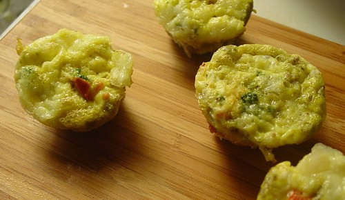 Cheese Frittatas 1