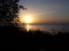 Sunset on Lake Victoria in Nassa, TZ
