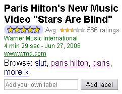 Google Videobewertung