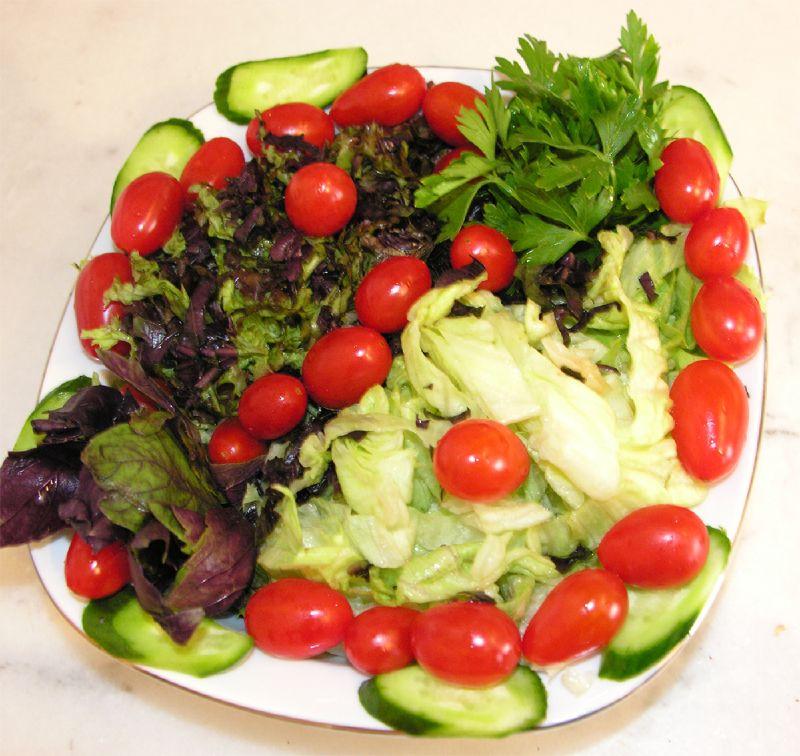 Salata S�slemek S�sl� Salata Taba�� Haz�rlamak Pratik Bilgiler-Resimli