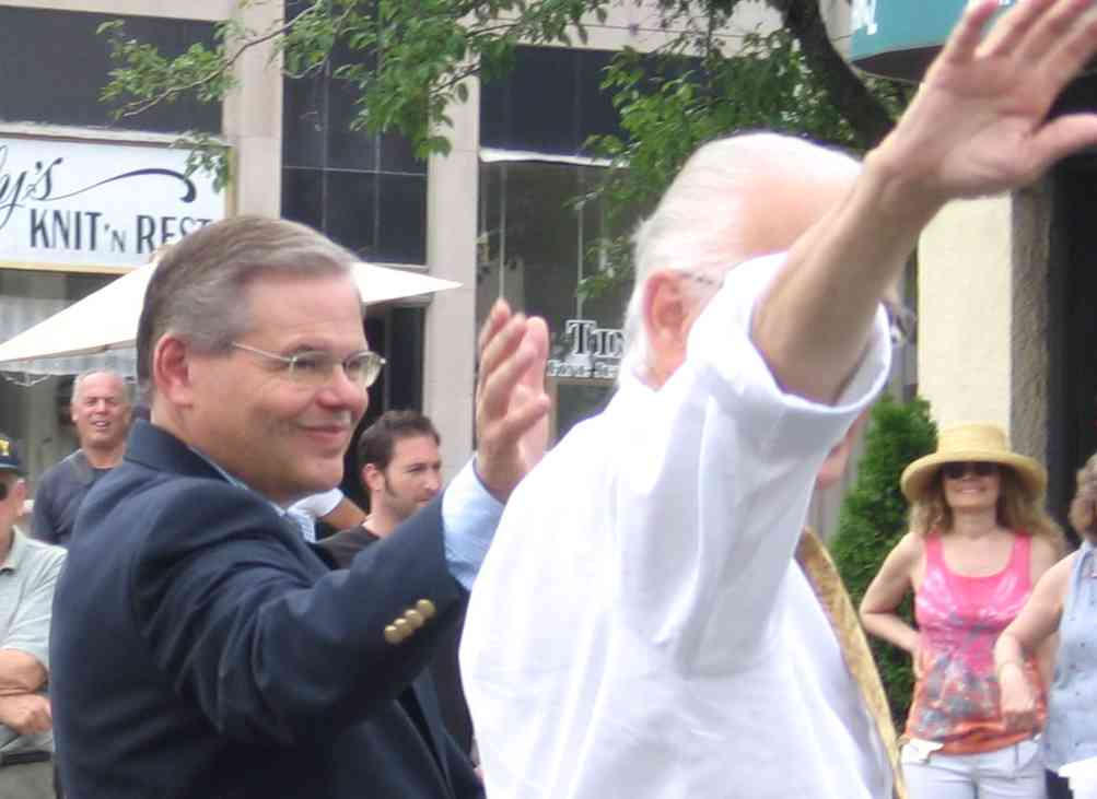 Sen. Bob Menendez and Rep. Bill Pascrell