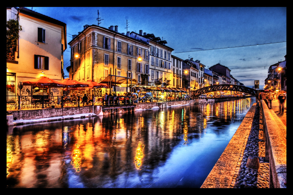 The Navigli Canals