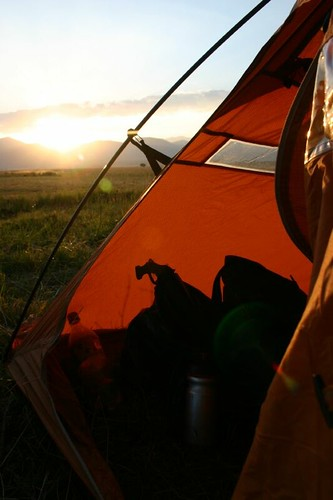 The sweet life of wild camping...