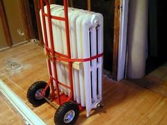 Truck the radiator