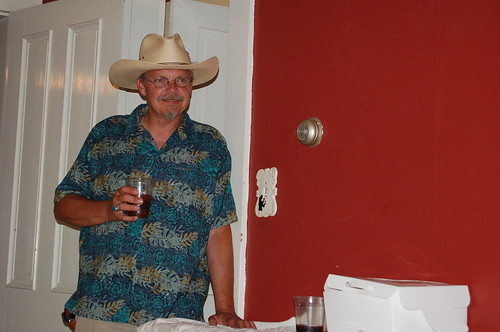 my handsome cowboy dad