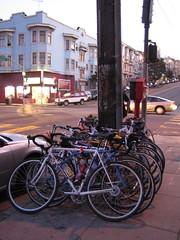 bikes outside zeitgeist
