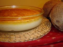 Crustless Coconut Pudding